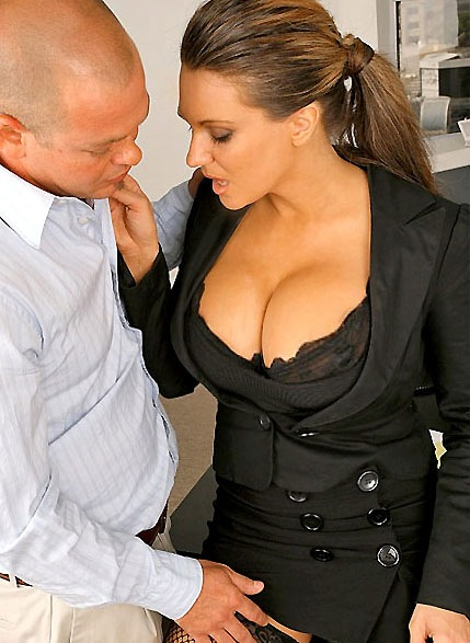 big-tits-boss-elle