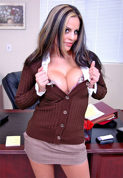 Big Tits At Work Mikayla 79